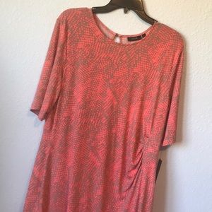 NWT Apt 9 dress with side cinching